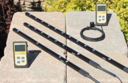 Line Quantum Meters available with 3, 6, or 10 sensors