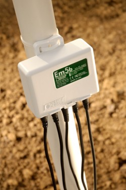EM5B Data Logger in Field