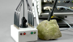 PHYTO-EDF with special 9-armed fibreoptics for laboratory or field use